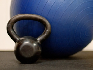 personal training kettle bell
